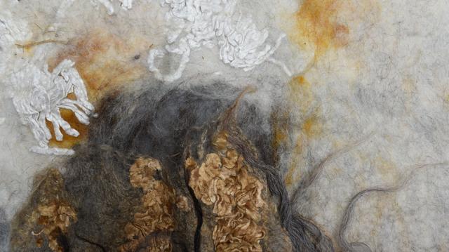 , 'Aarde (detail), 2016; photo: courtesy Studio Claudy Jongstra,' 2016, San Francisco Museum of Modern Art (SFMOMA)