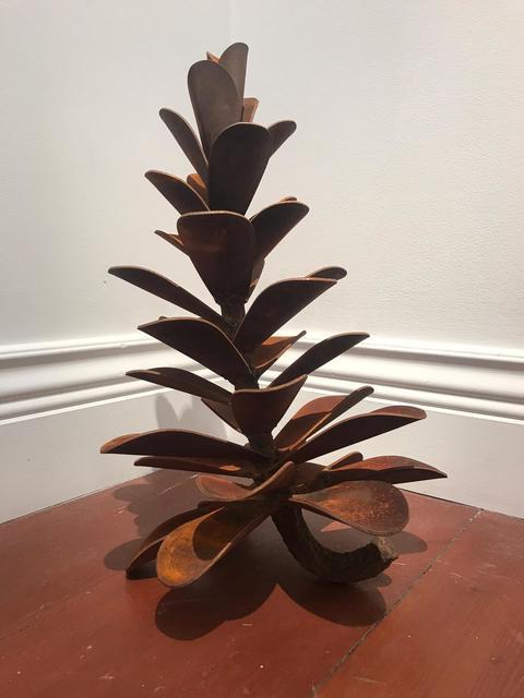 Floyd Elzinga, 'Pine Cone 21-062', 2021, Sculpture, Weathering steel, Whistler Contemporary