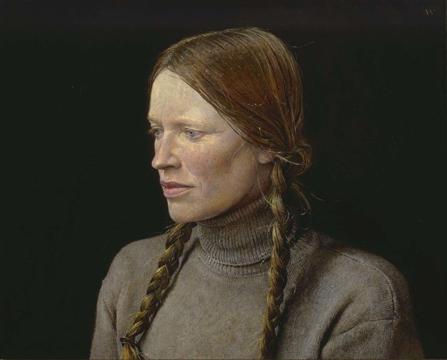 Andrew Wyeth, 'Braids', 1977, Seattle Art Museum