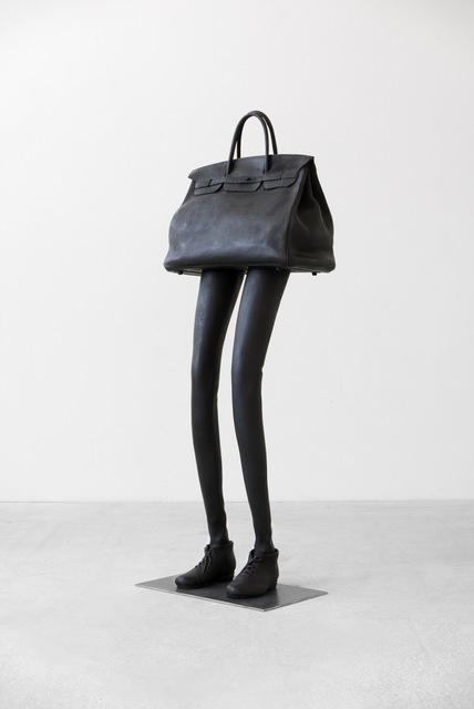 , 'Tasche mit zwei Beinen (Arbeitstitel),' 2017, Galerie Thaddaeus Ropac