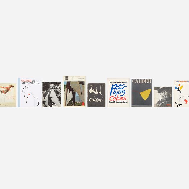 Alexander Calder, 'collection of eighteen books', 1943-2010, Wright
