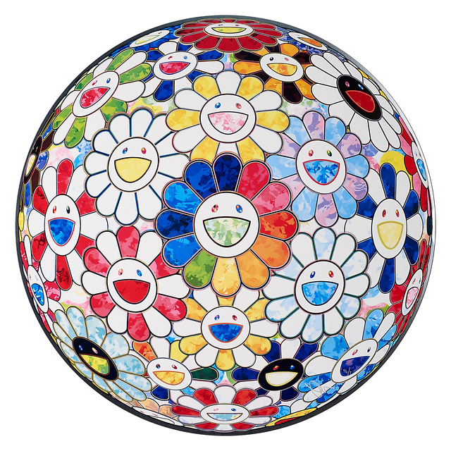 Takashi Murakami, 'Flowerball Multicolors 1 (Scenery with a Rainbow in the Midst)', 2014, Rago