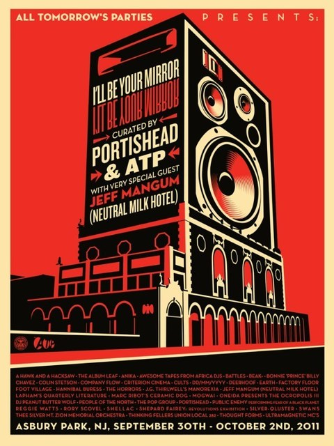 Shepard Fairey, 'All Tomorrow's parties', 2011, AYNAC Gallery
