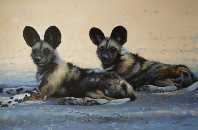 , 'Wild Dogs, Botswana,' , Trailside Galleries