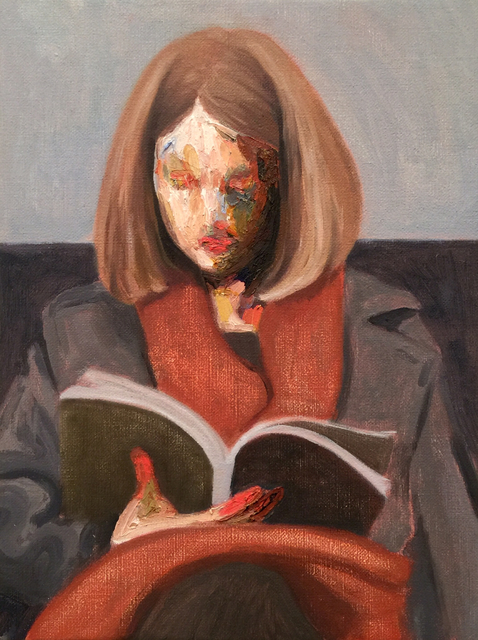 , 'The Subway's reader,' 2016, Yiri Arts