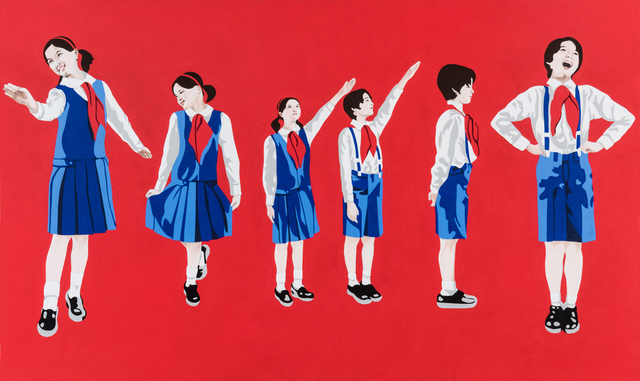 Mina Cheon, 'Happy North Korean Children II', 2015, Ethan Cohen New York