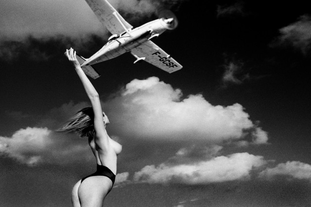 , 'Ashley with Plane ,' 1984, Space Gallery St Barth