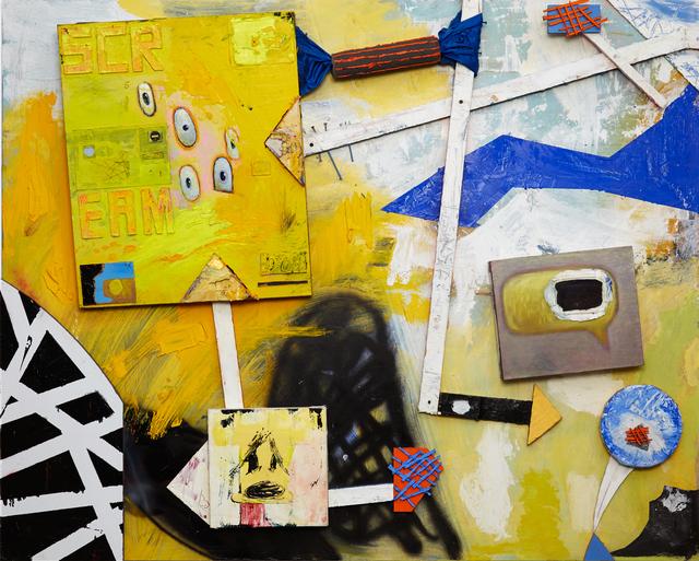 Nic Rad, 'SCREAM (D'oh)', 2016, VICTORI+MO CONTEMPORARY
