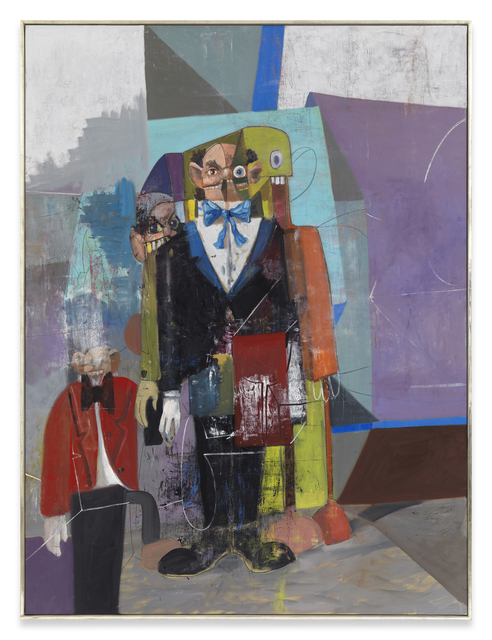 George Condo, 'The Homeless Butler', 2009, me Collectors Room