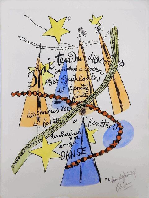 Fernand Léger, 'Phrases ', 1949, Le Coin des Arts