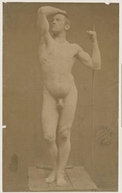 , 'Auguste Neyt, modèle de l'Âge d'airain (Auguste Neyt, modle for Age of Bronze),' 1877, Musée Rodin