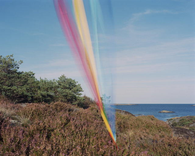 Ole Brodersen, 'String, cloth and kite #7', 2016, Muriel Guépin Gallery