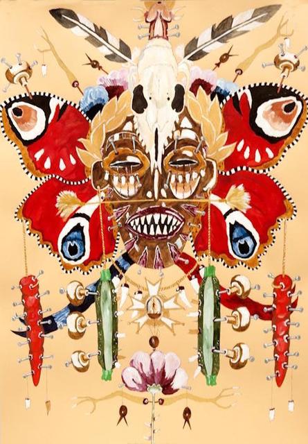 , 'Emperor Andrew's Vision of European Tribal War Idol,' 2015, Sperling