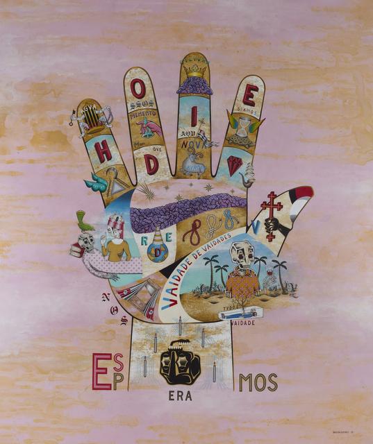 """, '""""Nós Ossos Que Aqui Estamos Pelos Vossos Esperamos"""" (We bones that here are, for yours await),' 2015, Jonathan LeVine Projects"""