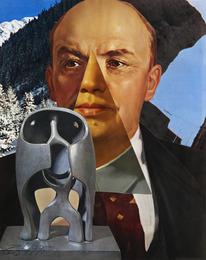 Portrait de Lenine / Mao