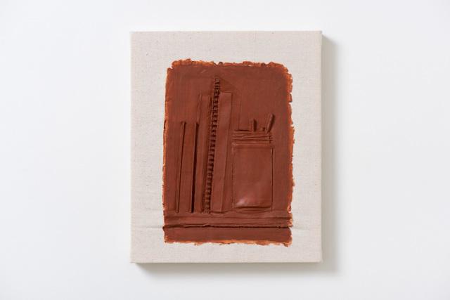 , 'Shelf with Spiral Notebook,' 2018, Moskowitz Bayse