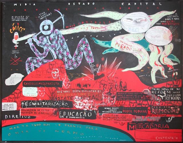 , 'Mar do Mermo,' 2014, Galeria Emma Thomas