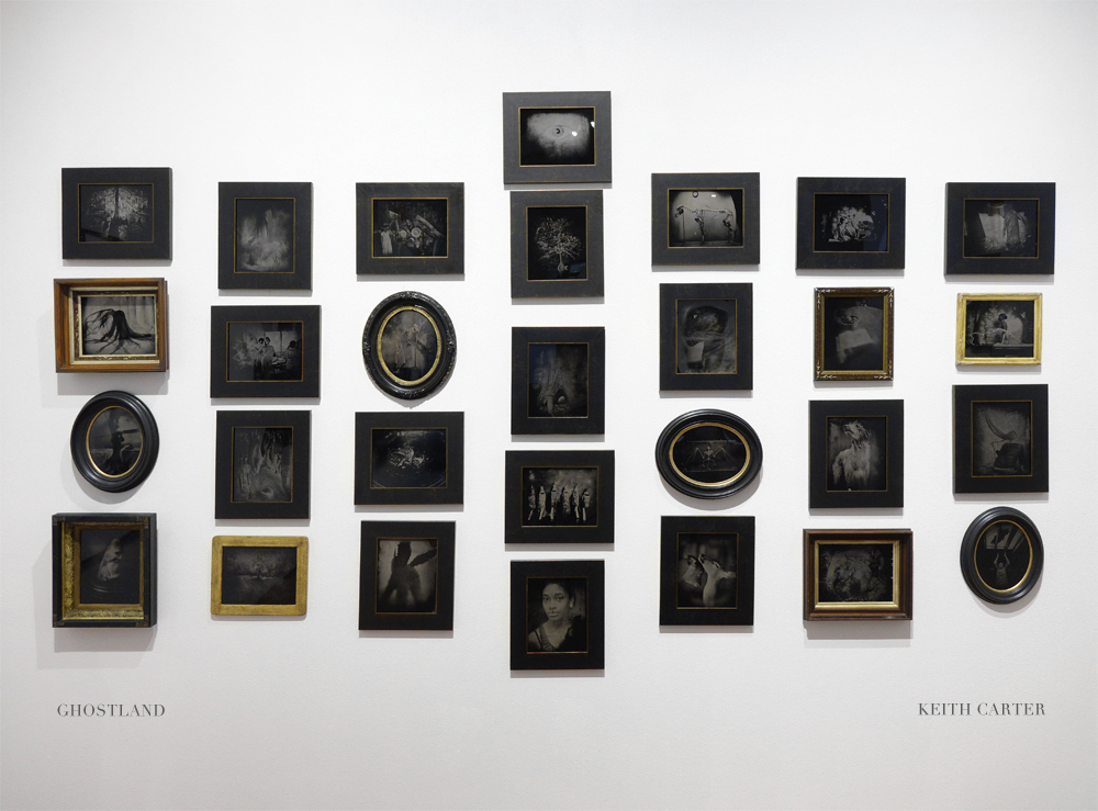 Keith Carter: Ghostland – Tintypes in found frames