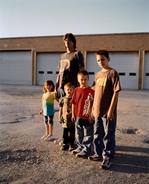 , 'Patrick with his Kids, Omaha, NE,' 2005-2018, Huxley-Parlour