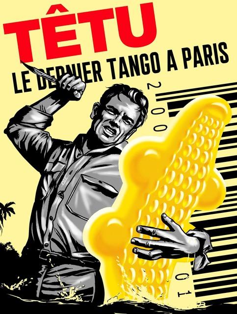 PHILIPPE GRIMAUD, 'LE DERNIER TANGO A PARIS (YELLOW EDITION)', 2019, Poulpik Gallery