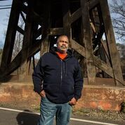 , 'Anthony Ray Hinton in Quinton, Alabama, where he has lived since 2015, when he was released from death row.,' 2017, Cantor Fitzgerald Gallery, Haverford College