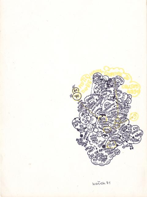 , 'untitled,' 1991, christian berst art brut