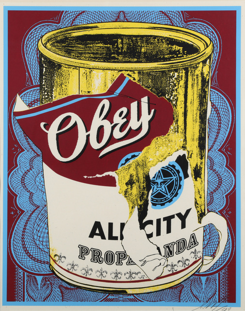 Shepard Fairey, 'Soup Can III', 2009, Chiswick Auctions