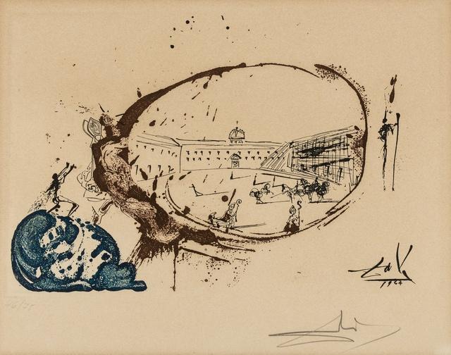 Salvador Dalí, 'Visión del Paraíso (M & L 800d; Field 73-1-K)', 1975, Forum Auctions