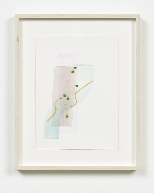 , 'Double Stand,' 2017, Galerie Nikolaus Ruzicska