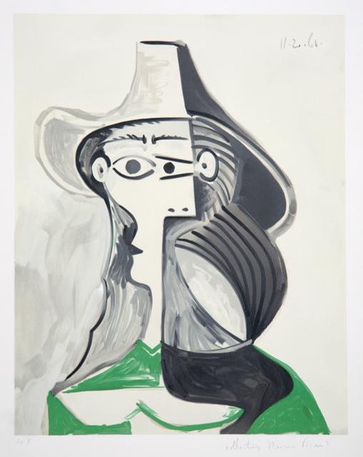 Pablo Picasso, 'Femme Au Chapeau', 1979-1982, RoGallery