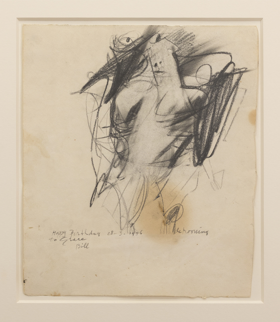 , 'Untitled (Woman),' 1956, Eric Firestone Gallery