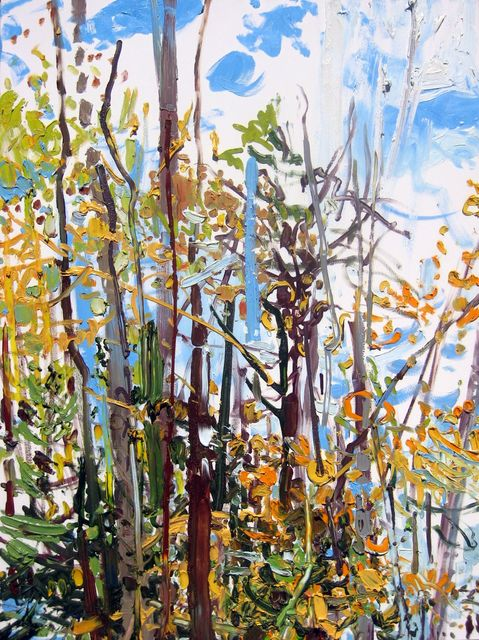 Lilian Garcia-Roig, 'Fall Blue', 2009, Thomas Deans Fine Art