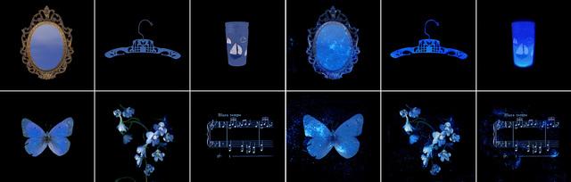 , 'Glowing Evidence: Studies in Blue,' , David Richard Gallery