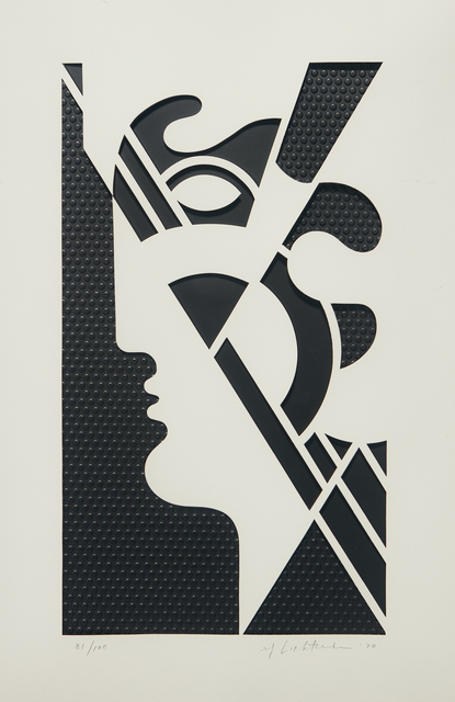 Roy Lichtenstein, 'Modern Head #5, from Modern Head series', 1970, Phillips