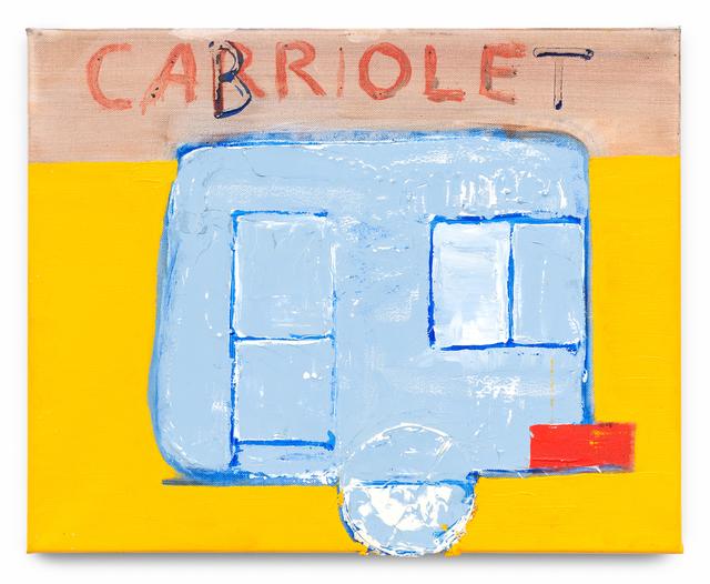 , 'Cabriolet,' 2017, Galerie nächst St. Stephan Rosemarie Schwarzwälder