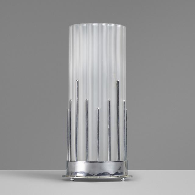 Fostoria Glass Company, 'Lotus vase', c. 1928, Wright
