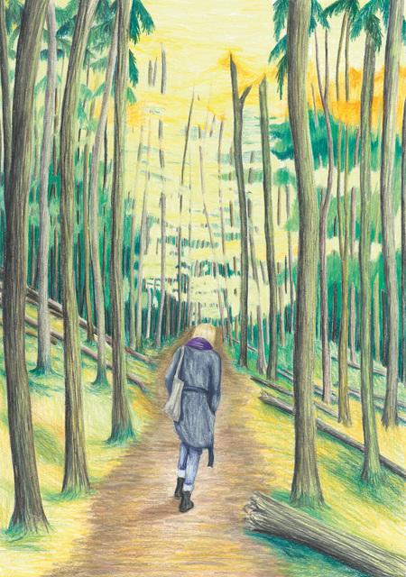 , 'Katrin in the woods,' 2018, Kolja Kramer Fine Arts