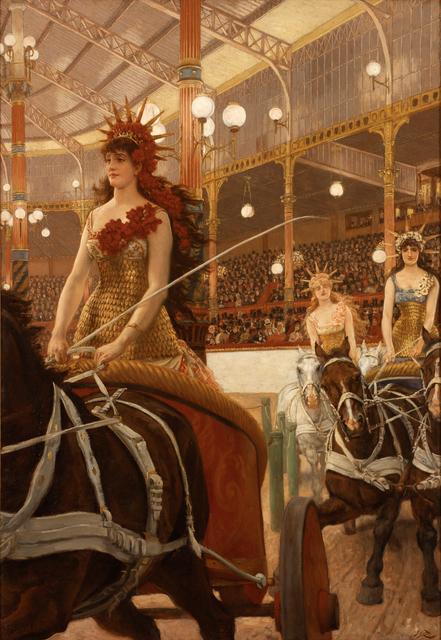 James Jacques-Joseph Tissot, 'Ladies of the Chariots (Ces Dames des Chars)', 1883-1885, RISD Museum
