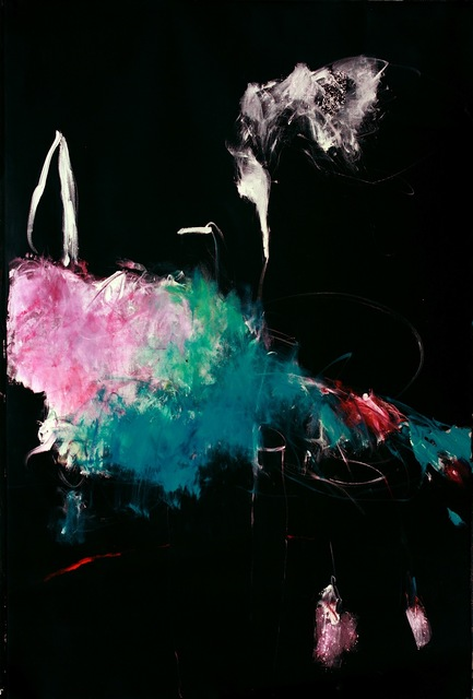 , 'Untitled (black flower from Foliage in Darkness series),' , Leila Heller Gallery