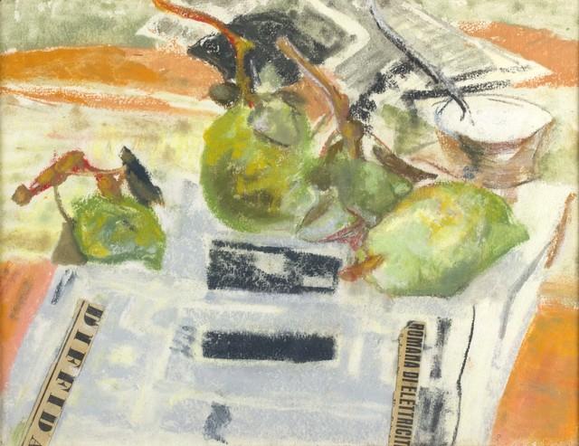 Fausto Pirandello, 'Pears', 1945, Bertolami Fine Arts