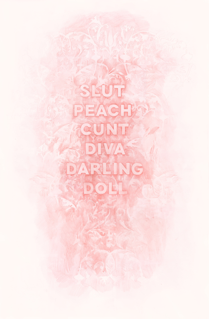 , 'Slut Peach Cunt Diva Darling Doll,' 2017, Winston Wächter Fine Art