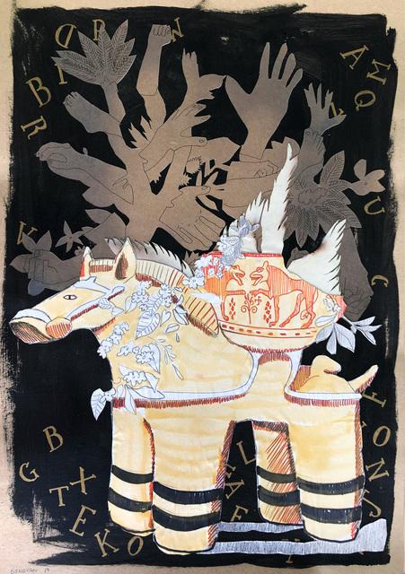 , 'Equine Vase,' 2020, 99 Loop Gallery