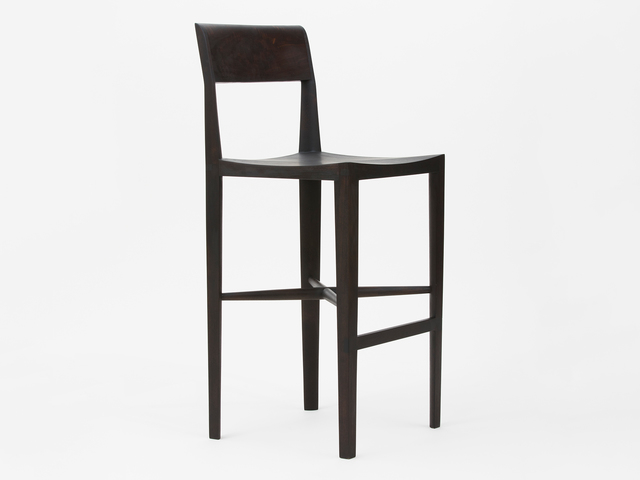 , 'Quarter Round Counter Stool (With Backrest),' 2018, Patrick Parrish Gallery
