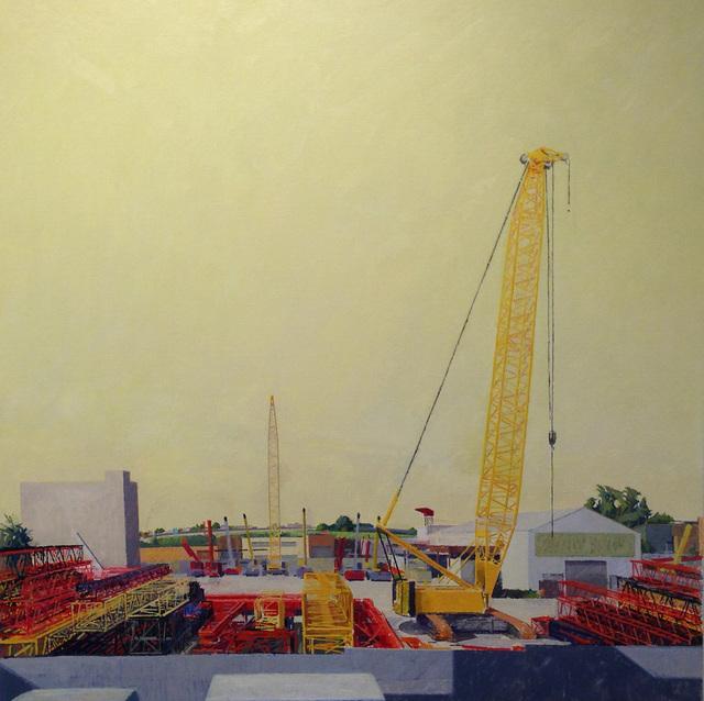 Ron Milewicz, 'Yellow Cranes', 2012, Elizabeth Harris Gallery