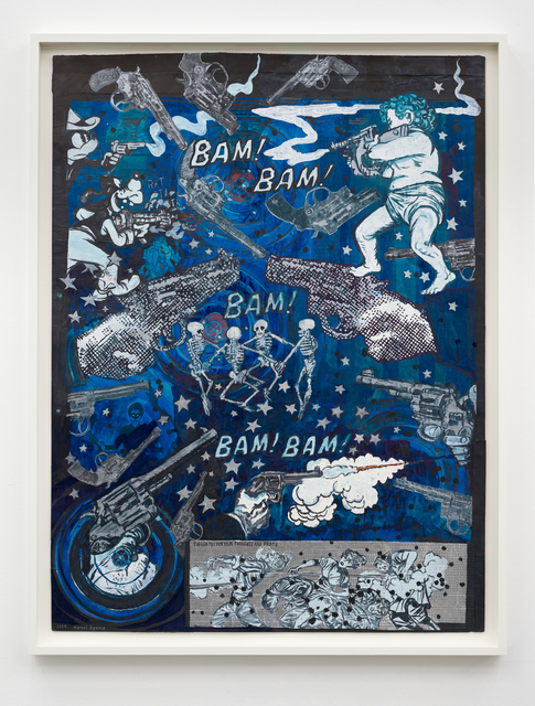 Marcel Dzama, 'Bam bam bam bam bam. or Thank you for your thoughts and praysers.', 2019, Sies + Höke