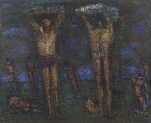 , 'Ohne Titel (Badebild),' 1992, Galerie Michael Haas