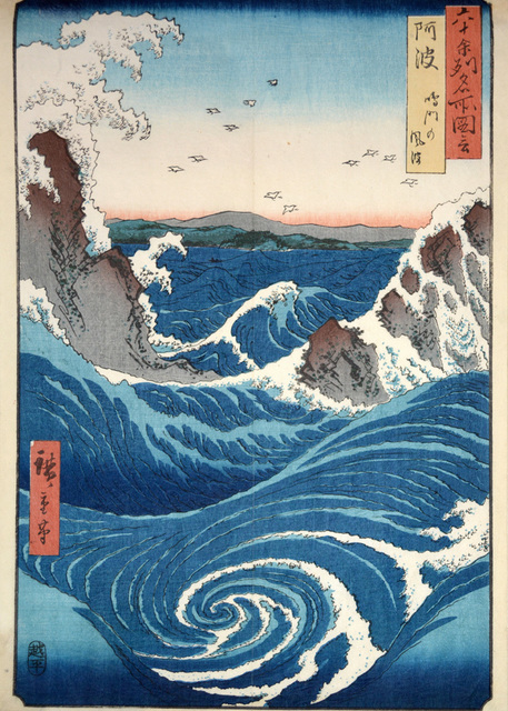 , 'Whirlpool at Naruto,' 1855, Ronin Gallery