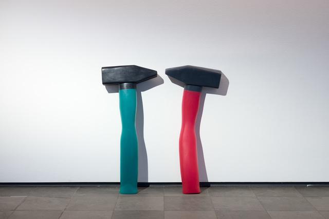 , 'Hammer,' 2016, Kunsthalle Wien