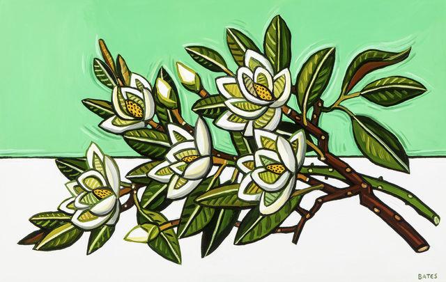 , 'Magnolia Branches,' 2019, Arthur Roger Gallery