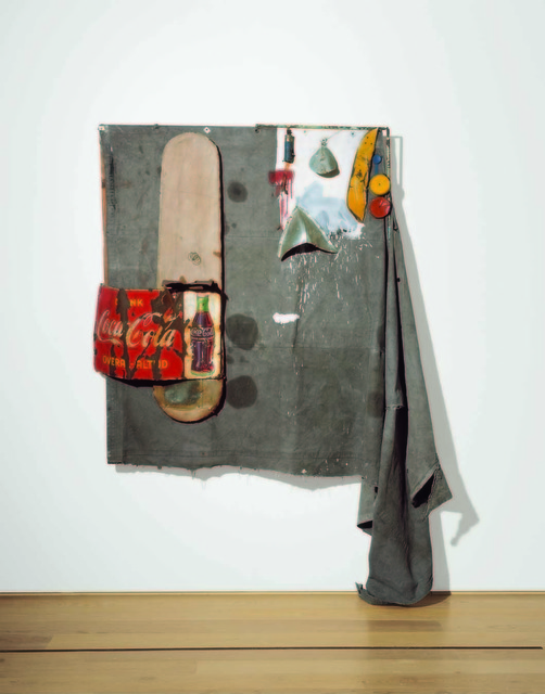 Robert Rauschenberg, 'Dylaby (Combine Painting)', 1962, Gagosian